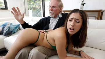 Kira Perez - Kira Gets Pounded By Grandpa