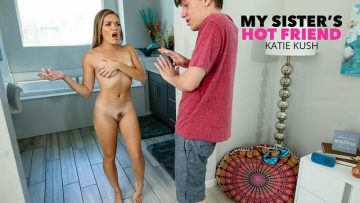 Katie Kush - Fucks Her Friend's Big Cock Brother