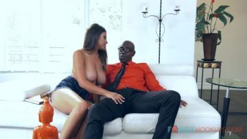 Busty Latina Ella Knox fucks her hung black stepdad