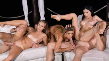 Sasha Rose, Kinuski And Shalina Devine - Vixens On Vacation - Part 2